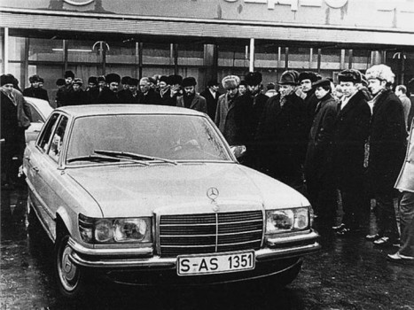 Mercedes-Benz 450SE_History
